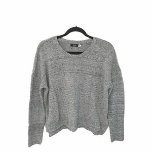 UO BDG ★ Crop Chenille Knit Sweater ★ Heather